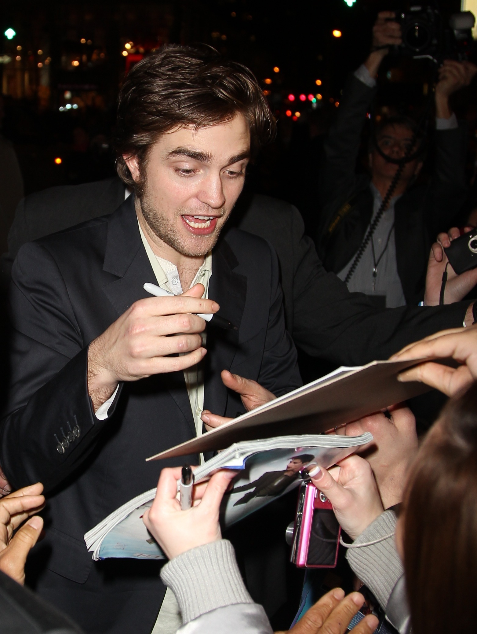 Rob Remember Me Premiere
