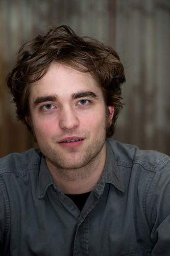 Rob at the Remember Me Press Conference (Feb 27th)