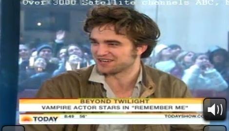 Robert Pattinson Today toon (March 1)