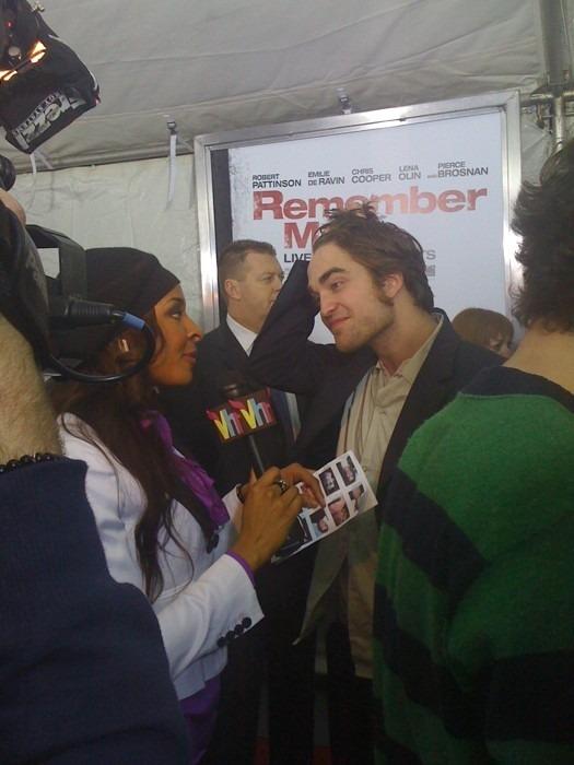 Robert Pattinson arrives at the Remember Me Premiere