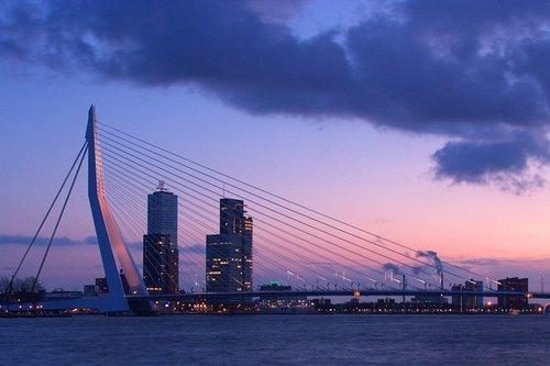 Rotterdam- Erasmus Bridge