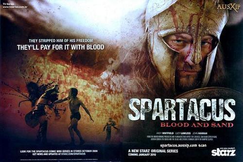 Spartacus Blood & Sand