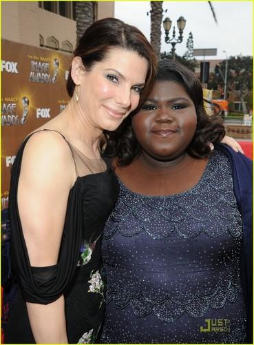 Sandra @ 2010 NAACP Image Awards