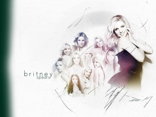 Sexy Britney پیپر وال