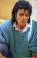 Sexy In Blue Sweater - michael-jackson photo