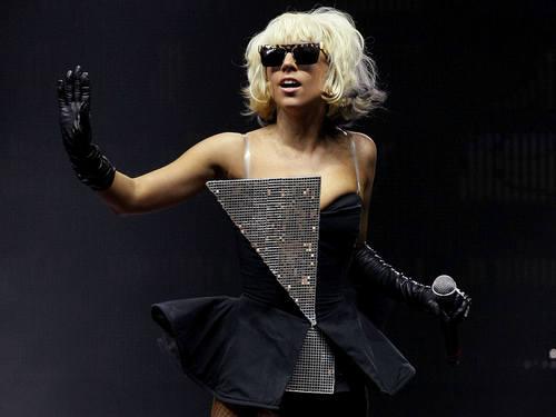 Sexy Lady Gaga 바탕화면