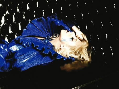 Sexy Lady Gaga achtergrond