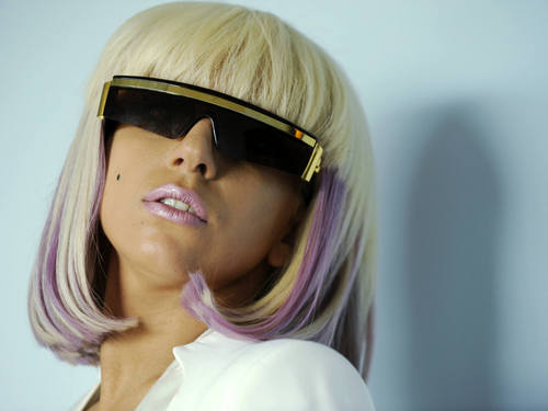 Sexy Lady Gaga kertas dinding