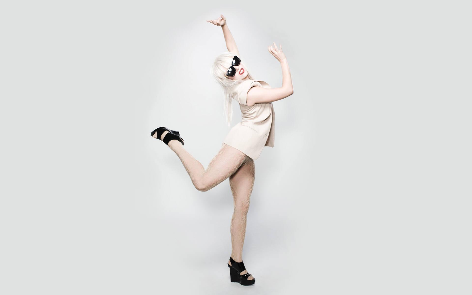 Sexy Lady Gaga Обои