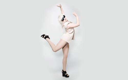 Sexy Lady Gaga wallpaper
