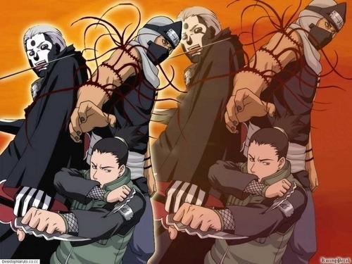 Shikamaru Kakuzu and Hidan