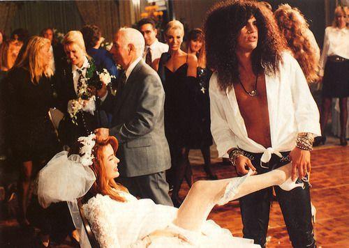 Slash's wedding