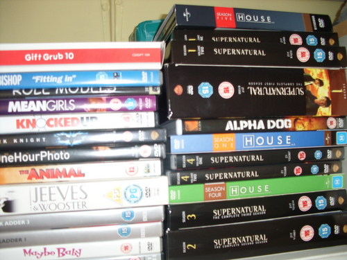 Some of my DVD's