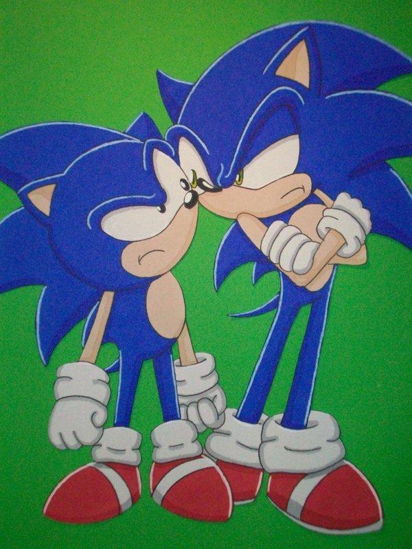 Sonic V.S Sonic