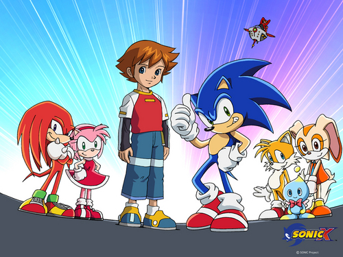 Sonic X wallpaper entitled Sonic X