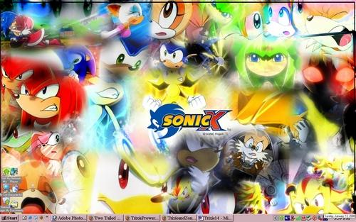 Sonic X wallpaper called Sonic's Xs