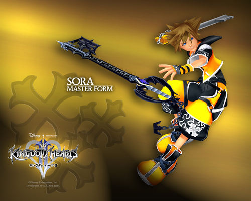 Kingdom Hearts 2 Обои called Sora's Forms