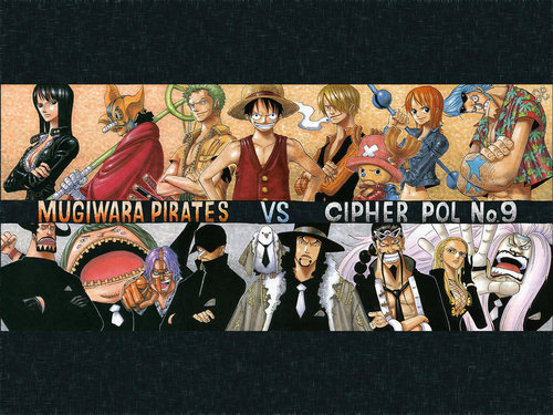 Straw Hat Crew vs CP9