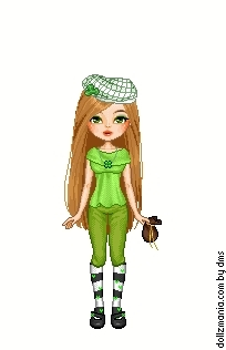 TDI St. Patricks Day girls Dollz