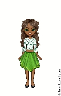 TDI St. Patricks hari girls Dollz