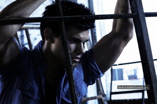 "Taylor Lautner in ""Men's Health"""