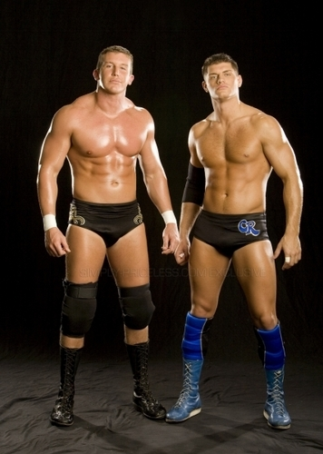 Ted Dibiase and Cody Rhodes