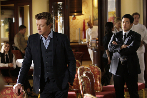The Mentalist - Episode 2.15 - Red Herring - Promotional foto's