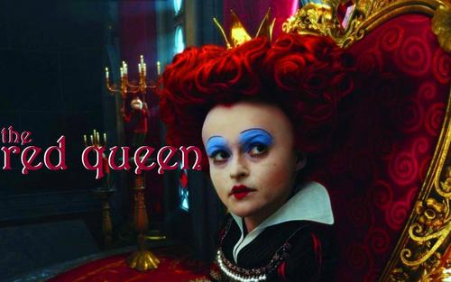 Alice in Wonderland (2010) wallpaper titled The Red Queen