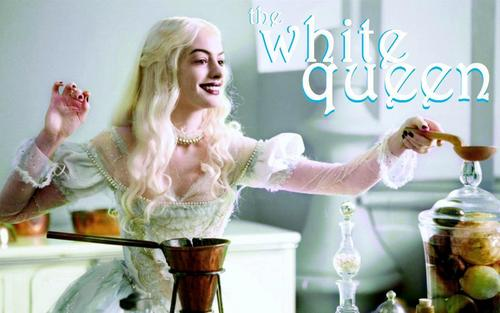 Alice im Wunderland (2010) Hintergrund titled The White Queen