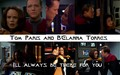 Tom and B'Elanna-There for You