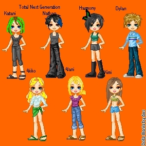Total اگلے Generation dollz