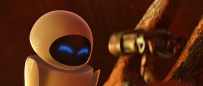 WALL-E and EVE meet