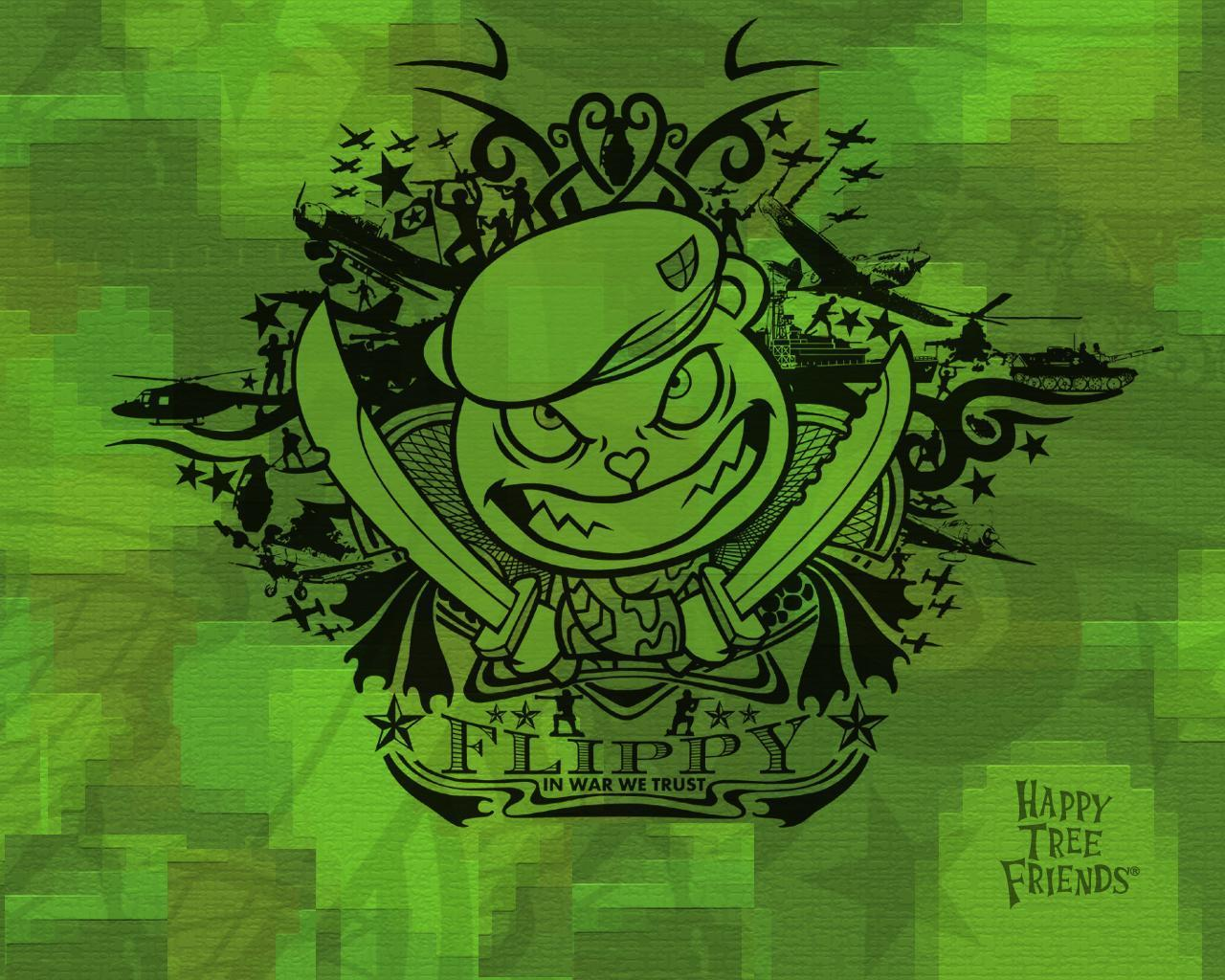 Happy Tree Friends Images War Flippy Hd Wallpaper And Background