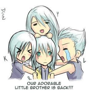 Welcome back Riku!