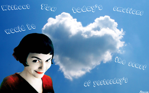Amelie wallpaper called Without you...