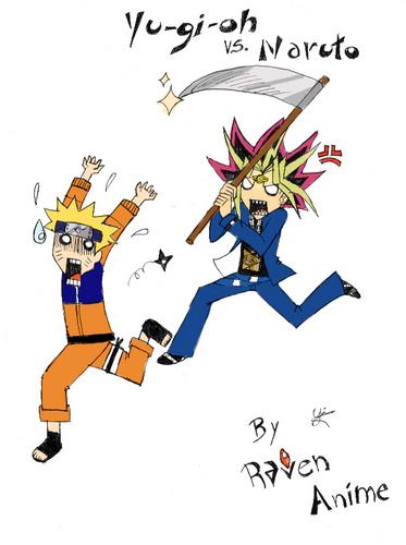 Yugioh vs naruto