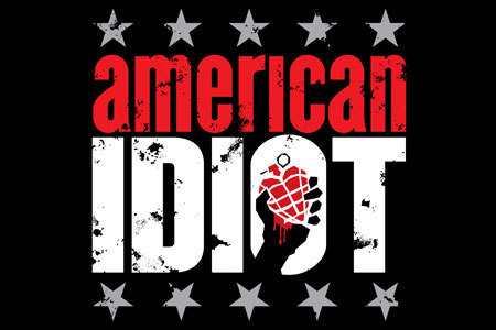 Green Day wallpaper called american idiot logo
