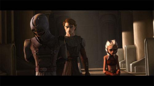 Anakin and Ahsoka - anakin and ahsoka fondo de pantalla