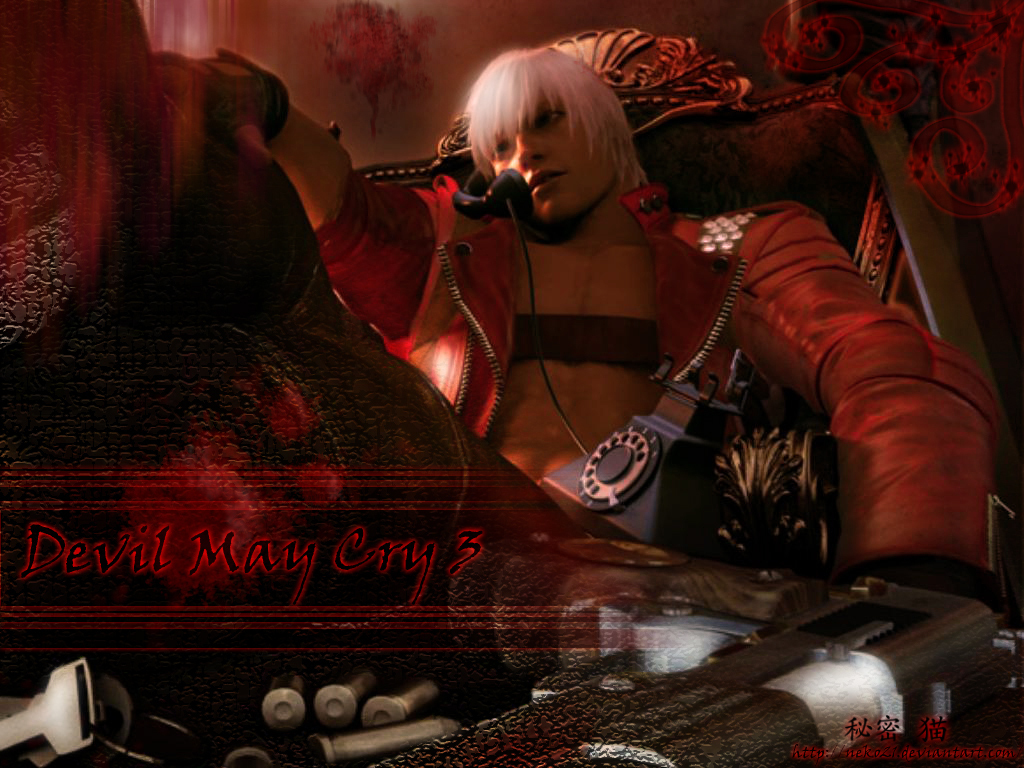 Dante Devil May Cry 3 壁紙 ファンポップ