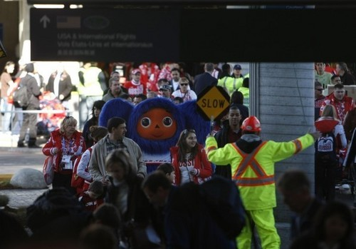 funniest moments Vancouver 2010 - the-olympics Photo
