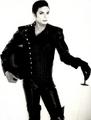 his amazing style...