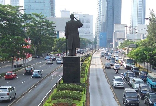 jakarta,the capital city of indonesia