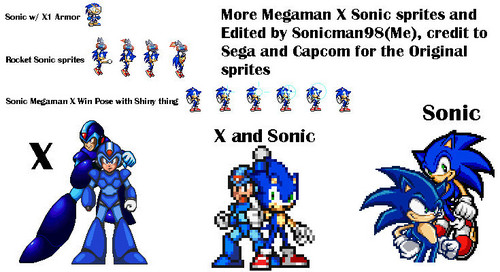 megaman and sonic the hedgehog wallpaper titled megaman x and sonic