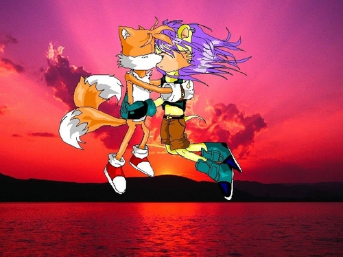 tails couples kertas dinding called mxt