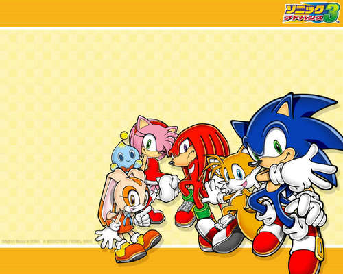 sonic advance 3 fond d'écran