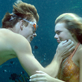 will and bella underwater