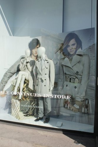 Burberry store in Barcelona