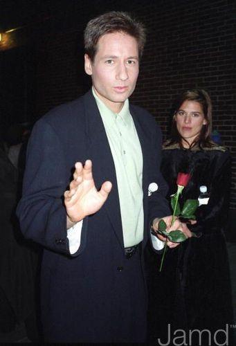 20/01/1995 - Arrives for Letterman