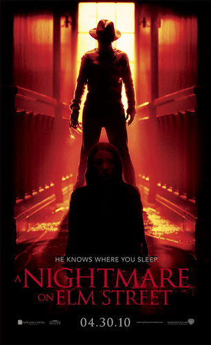 A Nightmare on Elm strada, via (2010) Poster