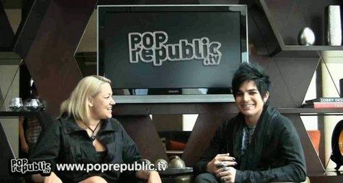 Adam at pop republic :D